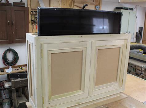 build  tv lift cabinet design plans jon peters