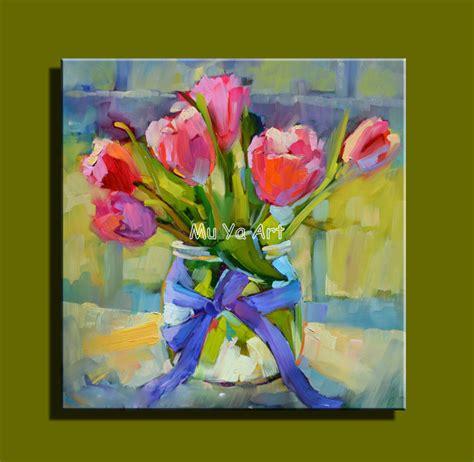peinture moderne abstraite fleurs abstraite moderne mur de toile peint 224 la peinture couteau fleur peinture 224 l huile de