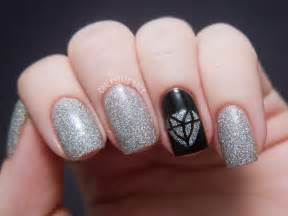 Day inspired by a song chalkboard nails nail art