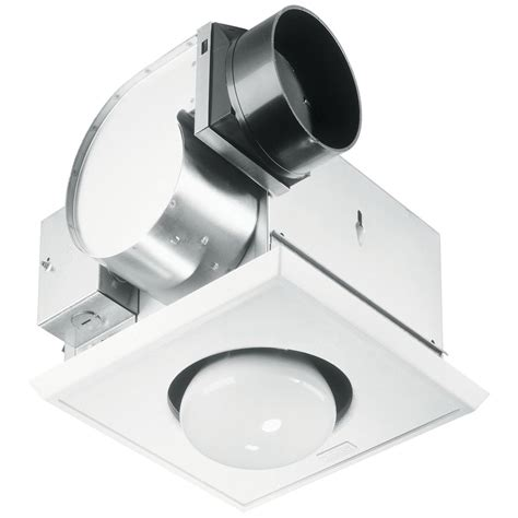 bathroom 70 cfm exhaust fan with heat l and light un