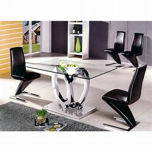 table a manger design ellipse taille au choix tables With table salle a manger design