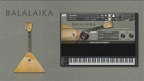 Cinematique Instruments Balalaika Kontakt