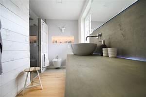 Bad Betonoptik Holz : wohlf hlbad im modernen stil ~ Michelbontemps.com Haus und Dekorationen
