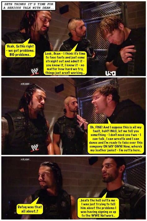 Dean Ambrose Memes - credit jen dean ambrose net the shield funnies and more pinterest lol