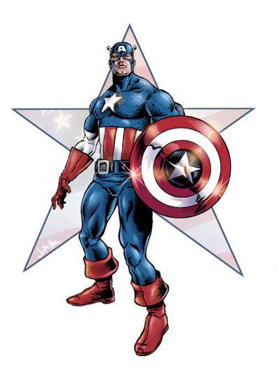 dessins en couleurs  imprimer captain america numero