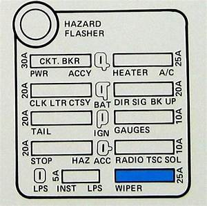 1977 Corvette Fuse Box Diagram