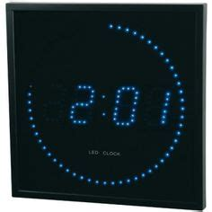 horloge murale a led 1000 images about horloges led on led clock and indoor