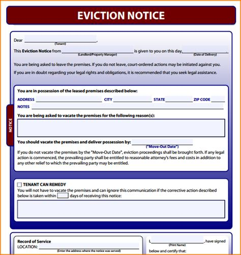 printable eviction notice teknoswitch