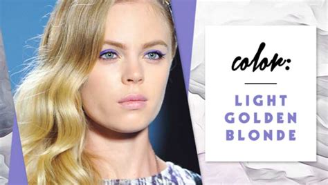 8 Sunny Golden Blonde Hair Colors