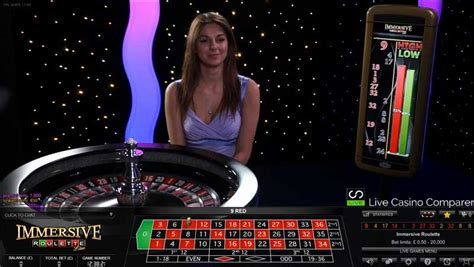 Live Immersive Roulette By Evolution Gaming  Live Casino