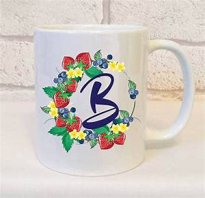 letter b mug gift perfect initial mug gift for a friend With letter b gifts