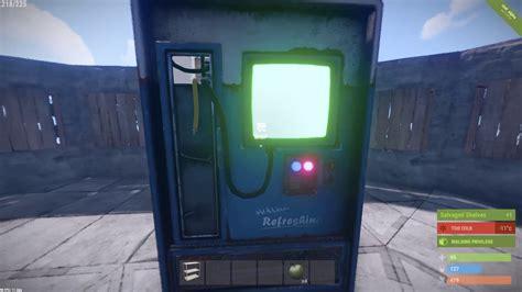 machine rust vending