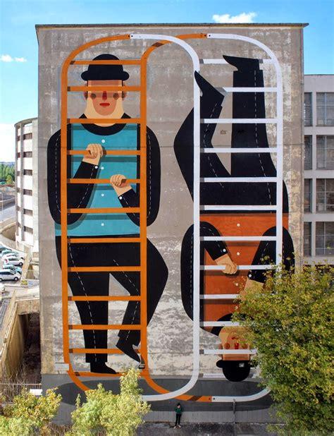 Agostino Iacurci Zero Infinito New Street Art Rome