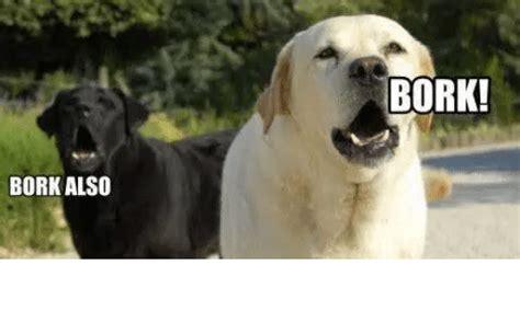 Bork Memes - bork also bork bork meme on me me