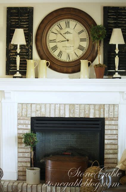 shutters   mantle home decor decor home
