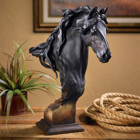 Equus Onyx Large Horse Sculpture