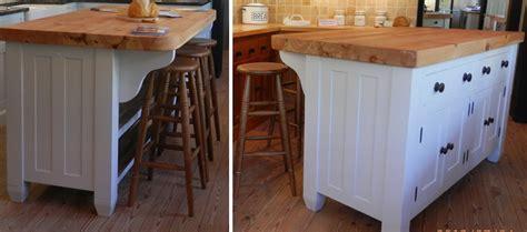 freestanding kitchen island bar handmade solid wood island units freestanding kitchen 3583