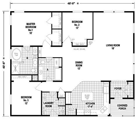 Wide Manufactured Home Floor Plans Oregon by Wide Mobile Home Floor Plans Image Mag