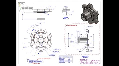 sending edrawings callouts  solidworks drawings youtube