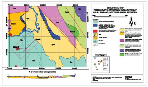 regional geological map tdem survey sulili  research