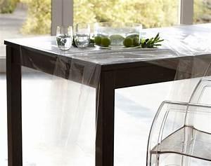 Film Protection Table En Verre : film plastique de protection transparent pour nappe becquet ~ Dailycaller-alerts.com Idées de Décoration