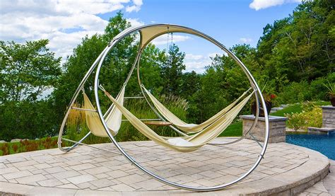 suspended bed design for small 20 hammock quot hang out quot ideas for your backyard garden