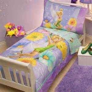 disney tinkerbell garden treasures 4 toddler bedding set reviews wayfair