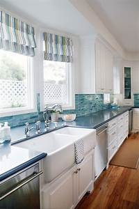 blue cabinets giggles and laundry With kitchen back splashes with blue