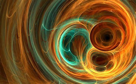 fractal texture blob light orange spiral swirl abstract