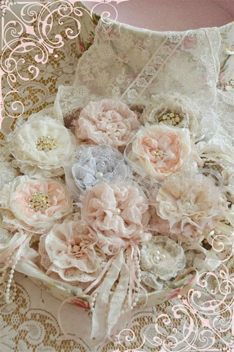 shabby chic fabric flowers 719 best ribbon embroidery needle work images on pinterest ribbons embroidery needles and