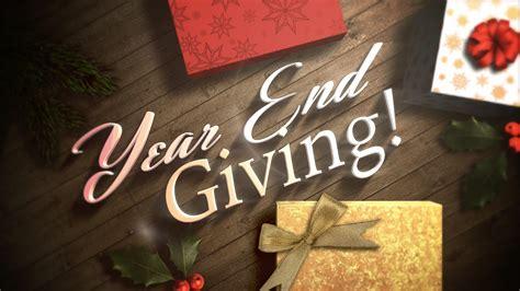 Year End Giving - PittNaz Church