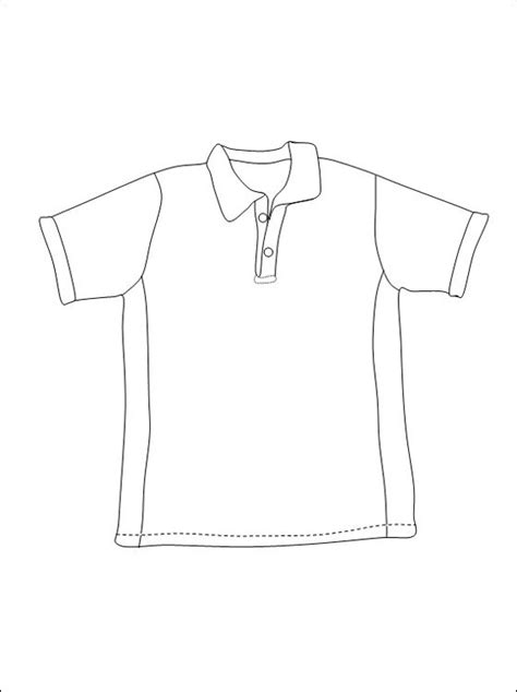 Kleurplaat Shirt by T Shirt Om In Te Kleuren Gratis Kleurplaten Kleding