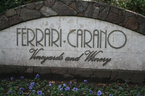 By following this page you represent that you are over 21. Ferrari-Carano Vineyards and Winery | From their website: Si… | Flickr