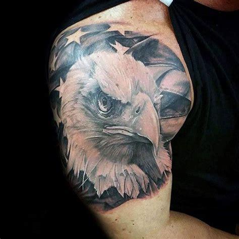 patriotic tattoos  men nationalistic pride design ideas