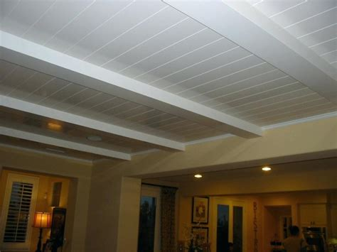 Armstrong Beadboard Ceiling Planks : Ceiling Planks Plank Ceiling Plywood Armstrong Ceiling