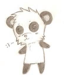 Cute Easy Panda Drawings