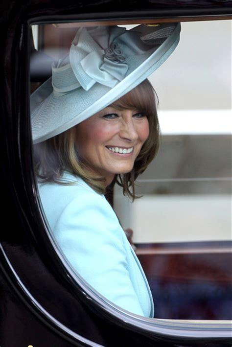 carole middleton mother   bride wows