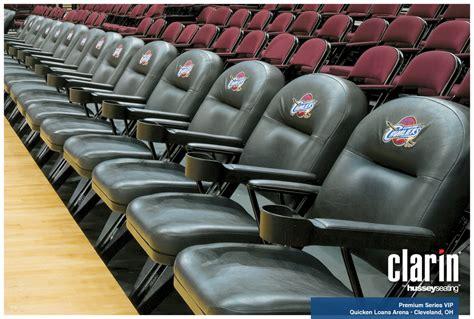 Cavs Vip Floor Seats by Vip Nba Sideline Seating Premium Folding Chair