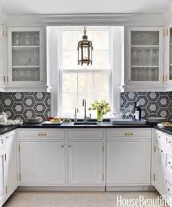 kitchen backsplash with white hexagon tile kitchen with - Hexagon Tile Kitchen Backsplash