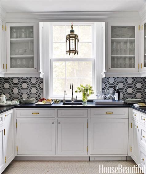 u shaped butlers pantry contemporary kitchen clean
