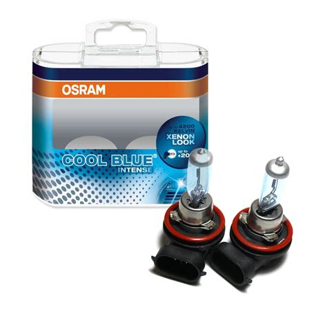 h11 osram cool blue h11 12v pack of car