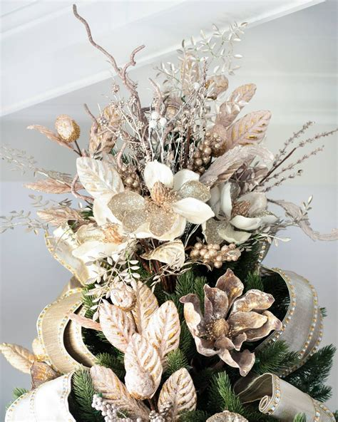 Pretty Tree Toppers by Bouquet Tree Topper Tree