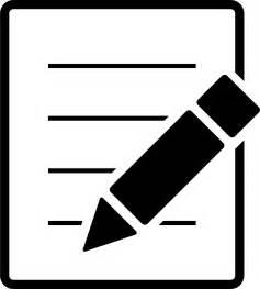 Writing Icon Clip Art