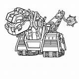 Dinotrux Kleurplaten Kleurplaat Dinotrucks Dino Struct Coloring Truck Ty Ton Template Rux sketch template