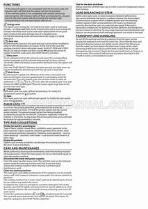 Hotpoint Bi Wmhl 71453 Washer User Manual