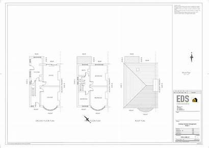 Extension Rear Renovation Garage Planning Sheffield Drawing