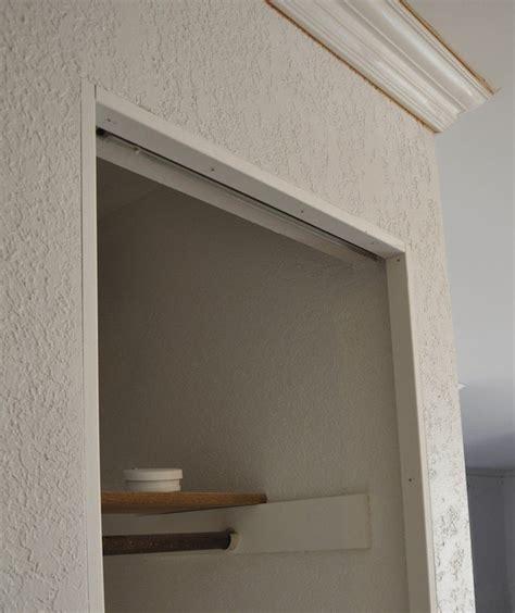 Trimming Closet Doors by How To Install Trim On Bi Fold Closet Doors