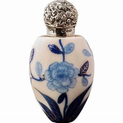 Perfume Antique Porcelain Scent Bottle 1890 Antiques