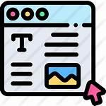 Icon Web Icons Website Transparent Premium Flaticon