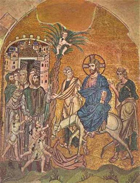 ingresso di gesù a gerusalemme bisanzio la porta d oro di gerusalemme
